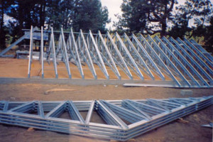 Steel Truss Installation