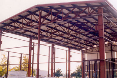 Structural steel steel truss supply for Prefabricated truss
